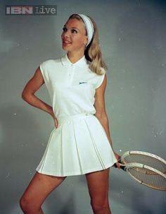1966 Slazenger tennis outfit.