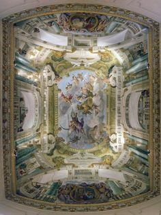 Trompe-l'Oeil Ceiling by Evanderiel