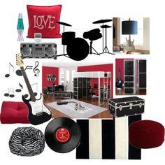 Boy's room--rock n' roll