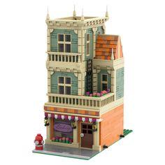 Lego City Sets, Lego Sets, Legos, Lego Winter, Lego Creative, Micro Lego, Star Wars Room, Lego Modular, Lego Construction