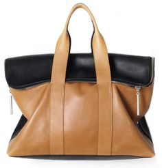 """Philip Lim 3.1 """"31 hour bag"""" -- very pretty in this color, but is it as classic as the Mulberry Bayswater?"""