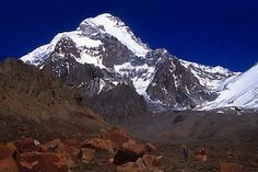 Climbing Aconcagua in the Andes.....22,842 ft (6962 m)