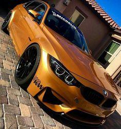 BMW F82 M4 copper