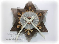 Folded Star Gift Tag