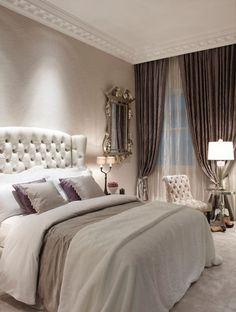 27 Creative Ways To Decorate Fantastic Feminine Glam Bedroom