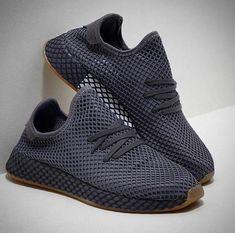 competitive price 7ad6d 0e711 Adidas Deerupt in Dark Gray addidasdeerupt Wardrobe Closet, Dark Grey,  Walk In My