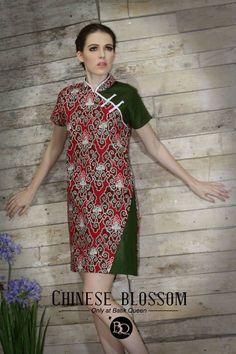 BQ Oriental  Get your oriental batik only @BATIK QUEEN www.batikqueen.com WA 081514700777 #batik #qipao #madewithlove #handmade #cheongsam #indonesia #dress #blouse Batik Fashion, Floral Fashion, Fashion Dresses, Batik Kebaya, Batik Dress, Kimono, Traditional Fabric, Traditional Outfits, Lovely Dresses