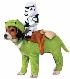 Dewback Stormtrooper Rider Star Wars Fancy Dress Halloween Pet Dog Costume | Pet Supplies, Dog Supplies, Costumes | eBay!