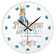 """Peter Rabbit"" ACRYLIC WALL CLOCK"