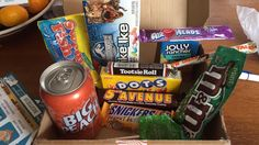 Love my first @TaffyMail box of American sweets! Can't wait to eat it all!