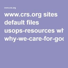 www.crs.org sites default files usops-resources why-we-care-for-gods-creation.pdf