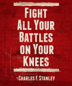 Fight on your knees