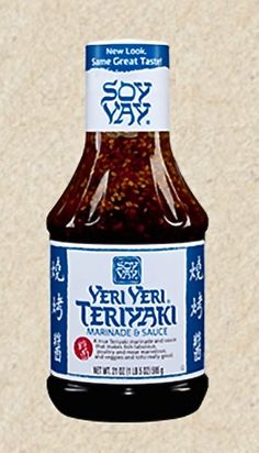 Veri Veri Teriyaki - a fool-proof marinade for the grill - chicken, fish, and (steaks - let it marinade for several hours for guaranteed tender deliciousness.