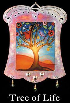 Tree of Life: Designer, Joline El-Hai, brings us her #BellaLuz #NightLight Series