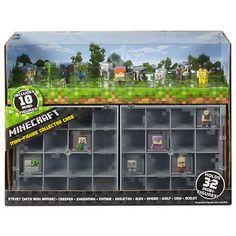 Minecraft Mini-Figure Collector Case with 10 Figures