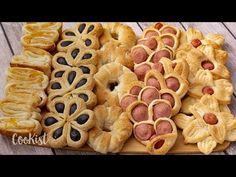 Puff pastry ideas: the perfect recipes for a party at home! Puff Pastry Appetizers, Puff Pastry Desserts, Puff Pastry Recipes, Easy Desserts, Dessert Recipes, Bolo Red Velvet, Caramel Pears, How To Cook Ham, Easy Food To Make