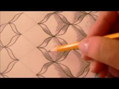 How to draw tanglepattern Batch - YouTube