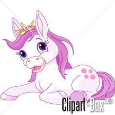 CLIPART PRINCESS HORSE