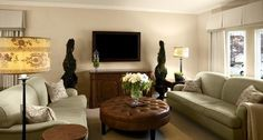 Living Room TV Console Design, Pictures, Remodel, Decor and Ideas - page 6