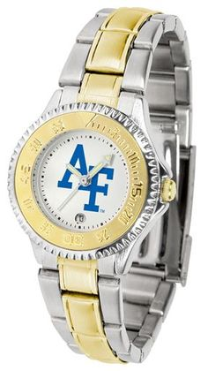 NCAA Air Force Falcons Competitor Ladies' Two-Tone Watch