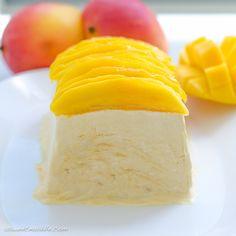 Mango semifreddo