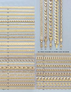 Types Of Mens Chain Links