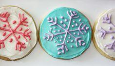 kidsChristmasparty_penguins_1 snowflake cookies