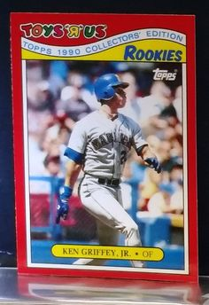 2296733454 1990 Toys R Us Rookies Ken Griffey Jr. #13, Grade 10, RARE, Limited  Production, HOT CARD !!