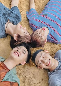 D.O, Chen, Baekhyun, Xiumin - 190911 Fourth official photobook 'PRESENT ; the moment' Credit: dobbu_.