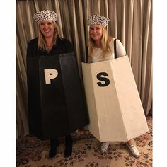 Pin for Later: 20 Halloween Costumes For the BFFs Obsessed With Food Salt and Pepper (Halloween Couples Easy)