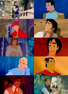 Who would you choose to rescue you? I love Philip, Eric and Flynn!