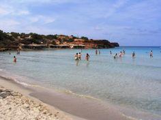 Cala Saona sur l'île de Formentera