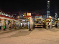 Star Ferry Bus Terminus - Hong Kong.