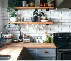 Kitchen Cabinets Ideas for Small Kitchen . Beautiful Kitchen Cabinets Ideas for Small Kitchen . Fresh Awesome House Interior Design for Choice Tiny House Interior Kitchen Shelves, Kitchen Cabinets, Open Shelves, Kitchen Backsplash, White Cabinets, Wall Shelves, Colored Cabinets, Corner Shelves, Backsplash Ideas