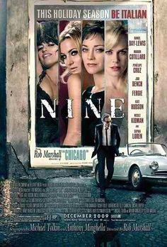 """BEST ART DIRECTION/SET DIRECTION NOMINEE: John Myhre/Gordon Sims for """"Nine""""."""