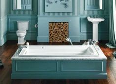 Any bathroom can become a luxury destination with a few upgrades. Today's manufacturers and homeowners, however, are well aware that energy and water efficiency are just as important as comfort. Click through for 8 incredible new products that can help you create a sumptuous bath that's both spa-like and sustainable.