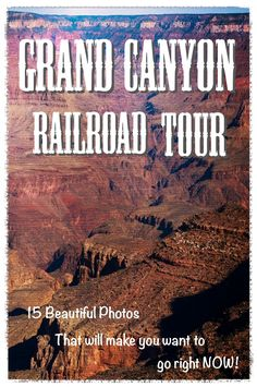 Taking a Historic Grand Canyon Railway Tour Taking a Historic Grand Canyon Railway Tour,travel 2020 15 beautiful photos of the Grand Canyon from a historical train tour. Have you ever been to the Canyon? Grand Canyon Vacation, Grand Canyon Tours, Grand Canyon Camping, Grand Canyon Arizona, Sedona Arizona, Grand Canyon Railway, Grand Canyon Train, Arizona Road Trip, Arizona Travel