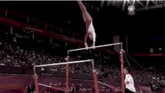 The Crazy Things Women Did on Bars: A GIF Gymnastics Guide - The Wire