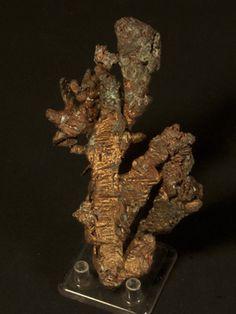 Native Copper (Hoppered) - Houghton County, Michigan, USA