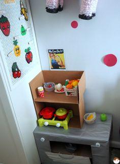 Un coin cuisine fonctionnel, peu coûteux et parfait pour les petits espaces