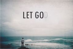 reminds us all to let God be in control and let go of trying to control everything because we clearly cannot