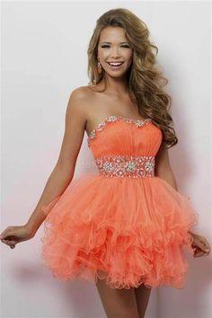 Nice short orange prom dresses 2018-2019 Check more at http://24myfashion.com/2016/short-orange-prom-dresses-2018-2019/