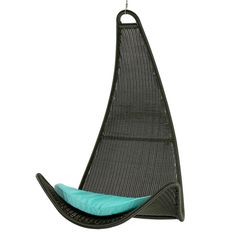 Escape the hustle and bustle of holiday planning by hiding away in this hanging chair.