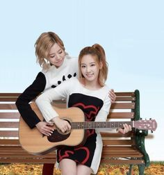 Sunny and Taeyeon!
