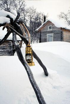 Winter. snow. rustic. cabin.