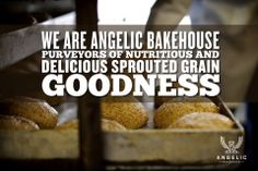#AngelicBakehouse. Delicious and Nutritious? How great is that?! #SproutedBread #Sprouted
