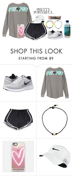 """School"" by alexislynea-804 ❤ liked on Polyvore featuring NIKE and Casetify"