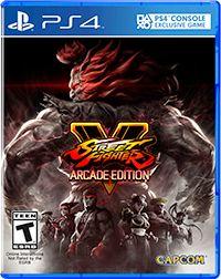 Street Fighter V: Arcade Edition Box Art