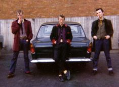 Teddy boys - teddyboys - Members of 1950's youth subculture