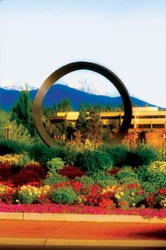 Did you know that Bend, Oregon has art sitting in the middle of its traffic circles? Play the art game at www.RoundaboutArtRoute.com where you can win a cool prize!    Lodestar  Info & Hours:  When you're coming around this roundabout and starting to head west, you can catch a phenomenal view of the Cascade mountain range including a spectacular look at the Three Sisters.  Address:  Bond Street and Reed Market Roundabout  Bend, OR 97701